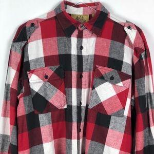 Shirts - Raider Jean | Men's Plaid Shirt | L